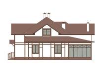 Huis in de Duitse stijl Fachwerk royalty-vrije illustratie