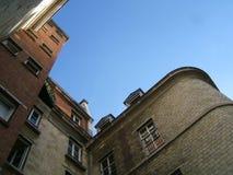 Huis in de hemel Royalty-vrije Stock Foto's