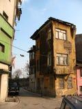 Huis in de krottenwijken van Istanboel Stock Foto