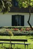 Huis in de lentetijd Royalty-vrije Stock Fotografie