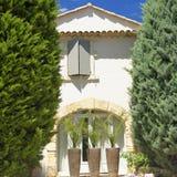 Huis in de Provence Stock Afbeeldingen