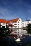 Huis in Denemarken royalty-vrije stock afbeelding