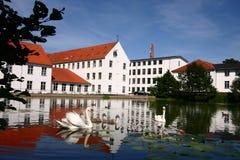 Huis in Denemarken royalty-vrije stock afbeeldingen