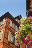 Huis dichtbij Duitsland royalty-vrije stock foto