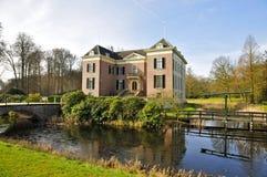 Huis Doorn med två broar Royaltyfria Bilder