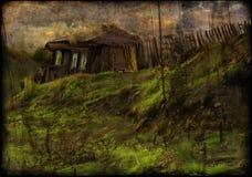 Huis in dorp Royalty-vrije Stock Fotografie