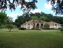 Huis in Dover Florida royalty-vrije stock foto's