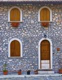 Huis in een Italiaans land Stock Afbeeldingen