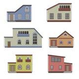 Huis en de bouwreeks Stock Afbeeldingen