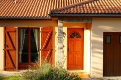 Huis in Frankrijk Royalty-vrije Stock Afbeelding