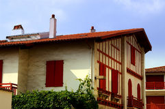 Huis in Frankrijk Stock Foto's