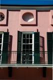 Huis in Frans Kwart - New Orleans Royalty-vrije Stock Afbeeldingen