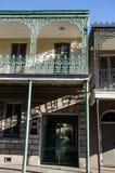 Huis in Frans Kwart - New Orleans Stock Afbeeldingen
