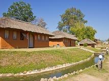 Huis gemaakte ââof klei Stock Foto