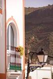 Huis in Gran Canaria royalty-vrije stock afbeeldingen