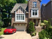 Huis in Halifax, New Brunswick, Canada stock foto's