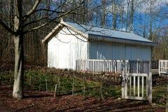 Huis in het bos Royalty-vrije Stock Foto's