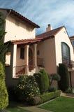 Huis in het district van de Jachthaven, San Francisco Stock Fotografie