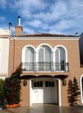 Huis in het district van de Jachthaven, San Francisco Royalty-vrije Stock Afbeelding