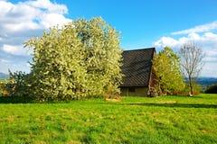 Huis in het dorp royalty-vrije stock foto's