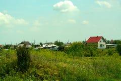 Huis in het dorp Royalty-vrije Stock Fotografie