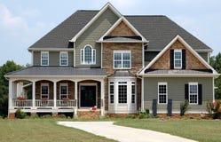 Huis in het Land Stock Afbeelding