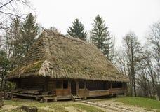 Huis in het park Shevchenko Royalty-vrije Stock Foto