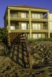 Huis in het strand royalty-vrije stock afbeelding