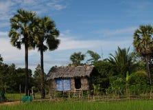 Huis in Kambodja Stock Foto's
