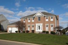 Huis in Kanton, Ohio stock foto's