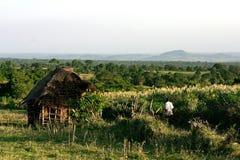 Huis in Kenia Stock Afbeelding