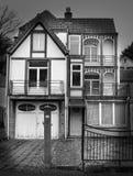 Huis in Kuuroord België Royalty-vrije Stock Afbeeldingen