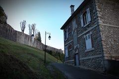 Huis in Lourdes Royalty-vrije Stock Foto