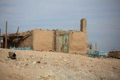 Huis in Luxor Royalty-vrije Stock Foto