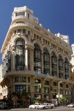 Huis in Madrid royalty-vrije stock fotografie