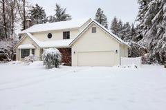 Huis met Airconditioning Royalty-vrije Stock Foto