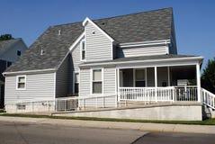 Huis met de Helling van de Rolstoel stock fotografie
