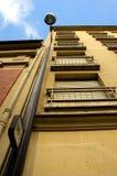 Huis met lampstand Royalty-vrije Stock Afbeelding