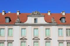 Huis met rood dak Royalty-vrije Stock Afbeelding