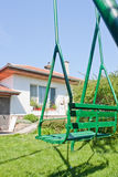 Huis met schommeling Stock Foto
