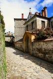 Huis met stenen Stock Foto's