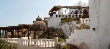 Huis met Terrassen stock foto