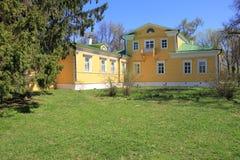 Huis-museum van Alexander Pushkin. Stock Foto's