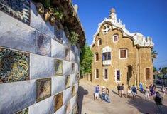 Huis-museum van Antonio GaudÃ, Barcelona Royalty-vrije Stock Afbeelding