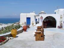 Huis in Mykonos Royalty-vrije Stock Foto's