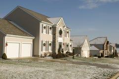Huis in Ohio Royalty-vrije Stock Afbeeldingen