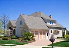 Huis in Ohio stock foto