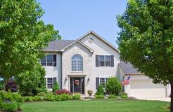 Huis in Ohio Royalty-vrije Stock Foto's