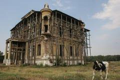 Huis onder Vernieuwing Stock Fotografie