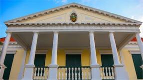 Huis op Curacao Stock Foto